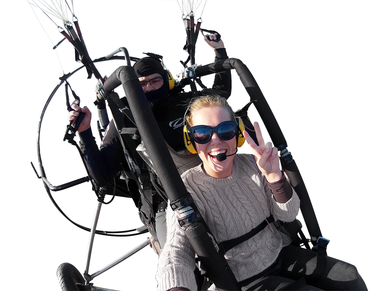 Aunair siklóernyős trike